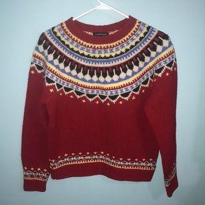 Beautiful Lands End wool sweater